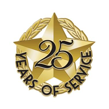 25 Years of Service 2